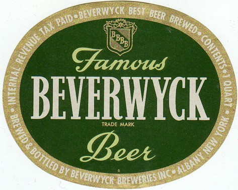 1930-039-s-Beverwyck-Beer-IRTP-Quart-Label-Albany-NY