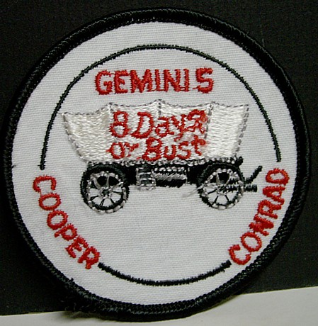 Vintage Gemini 5 Uniform Patch - NASA | eBay